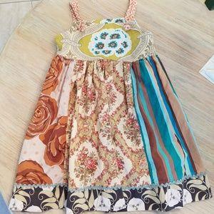 GIRLS size 8 Matilda Jane apron Style dress
